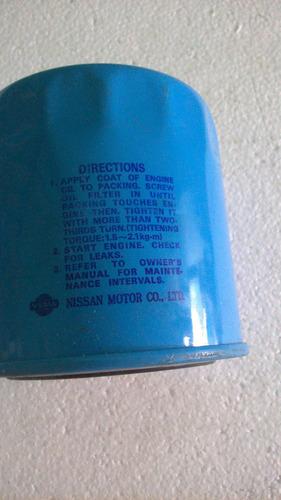 respuesto  nissan terrano filtro de aceite  original