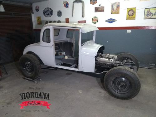 restauración automóviles antiguos - chapa y pintura