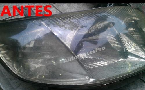 restauracion completa faros delanteros taxi toyota coraxi