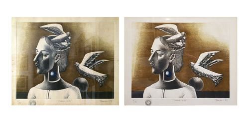 restauración de arte. pintura, escultura, grabado, dibujo