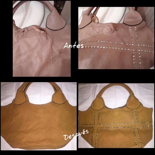 restauración de calzados bolsos carteras y cinturones