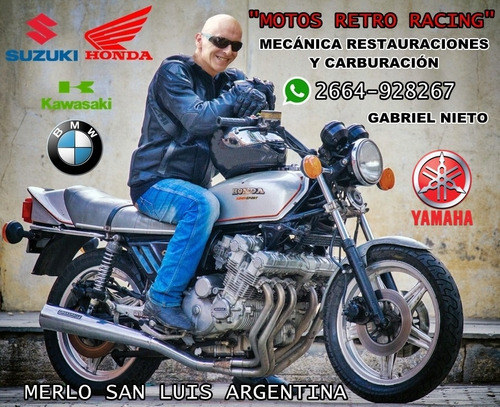 restauración de carburadores de motos en general. 70/80/90