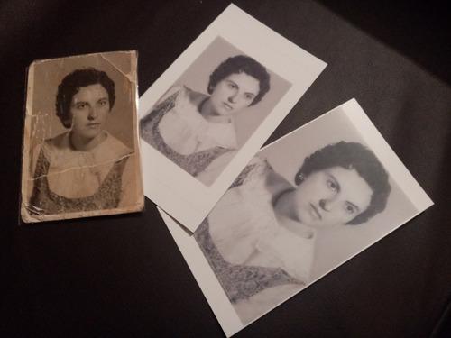 restauración de fotografía antigua o dañada sobre valoración