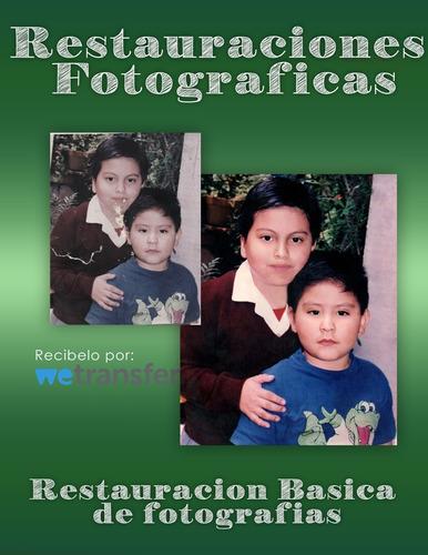 restauración de fotografías.