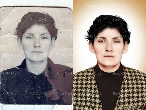 restauración de fotos antiguas o dañadas