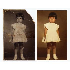 Restauración De Fotos, Retoques De Fotos