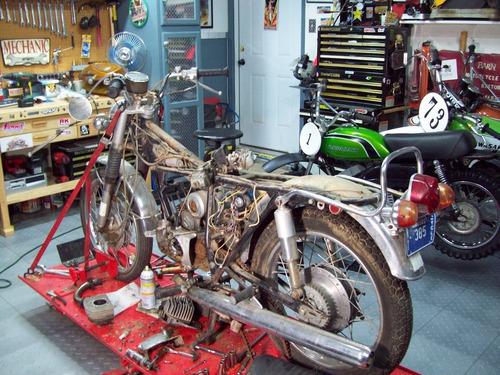 restauración de motos / taller mecánico zona norte