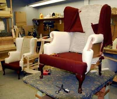 restauración de muebles, tapiceria carpinteria y pintura