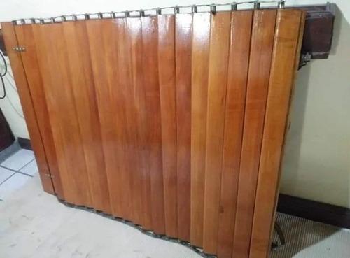 restauración de persianas y postigones de madera