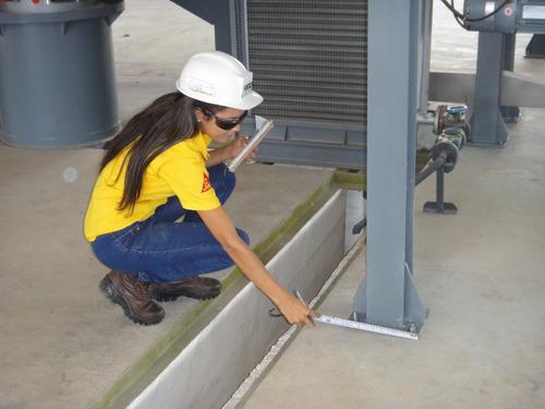 restauracion de pisos  de plantas industriales