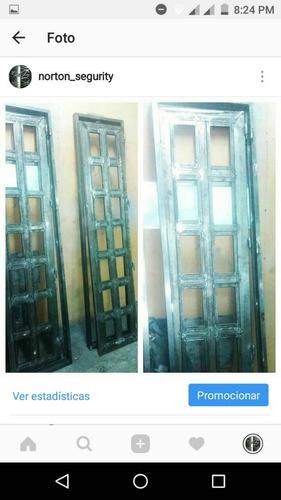 restauración de puertas y rejas principales