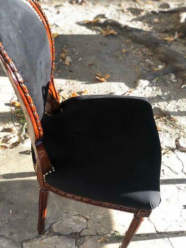 restauración de sillas estilo barroco