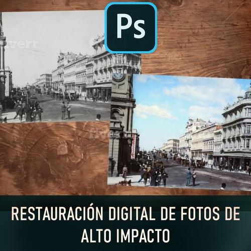 restauración digital de fotos (profesional)