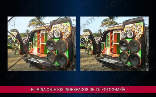 restauracion fotografica - retoques - logos - letras 3d