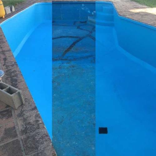 restauración pintura de pileta y piscinas