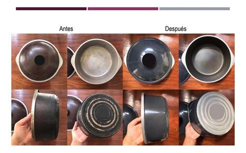 restauracion restaurar renovación de ollas