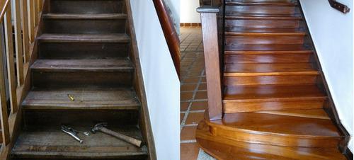 restauracion y mantenimiento de pisos y estructuras de mader
