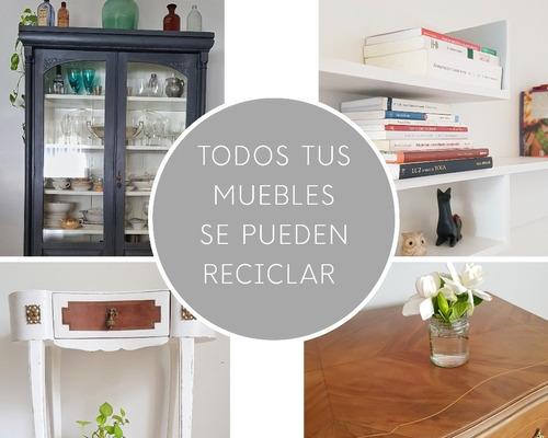 restauracion y reciclado de muebles y objetos