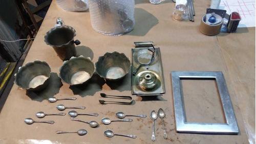 restauracion y replateo de piezas de orfebreria y cubiertos