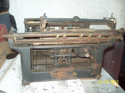 restauraciones de maquinas de escribir antiguas