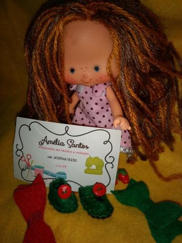 restauração de boneca antiga