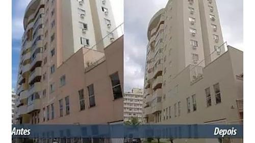 restauração de fachada predial em geral