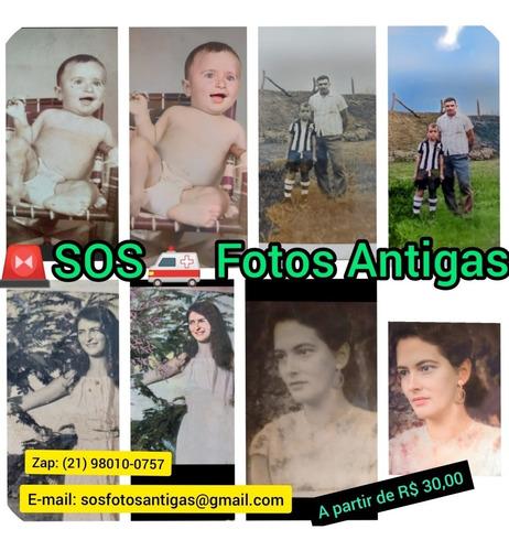 restauração de fotos antigas valiosas