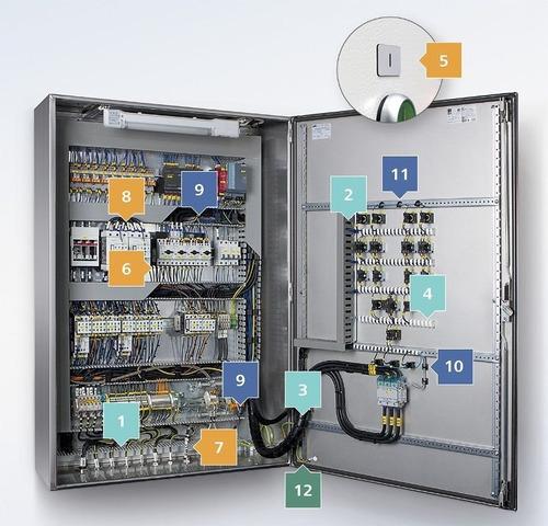 restauração e montagem de painéis de comandos elétricos