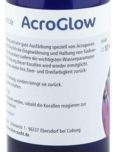 restaurador de cor acroporas acro-glow korallen zucht 100ml
