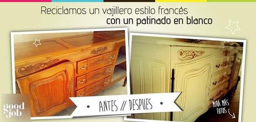 restaurador y laqueador de muebles