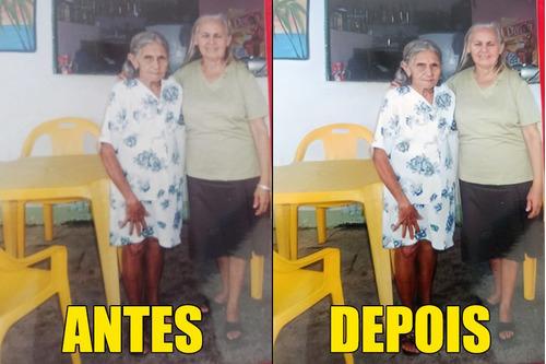 restauramos e colorimos suas fotos novas e antigas.