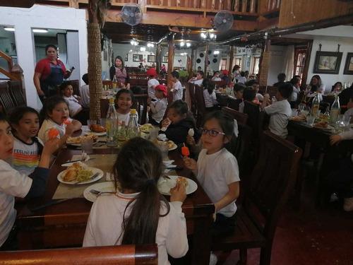 restaurant tierra fértil un dia de campo familiar