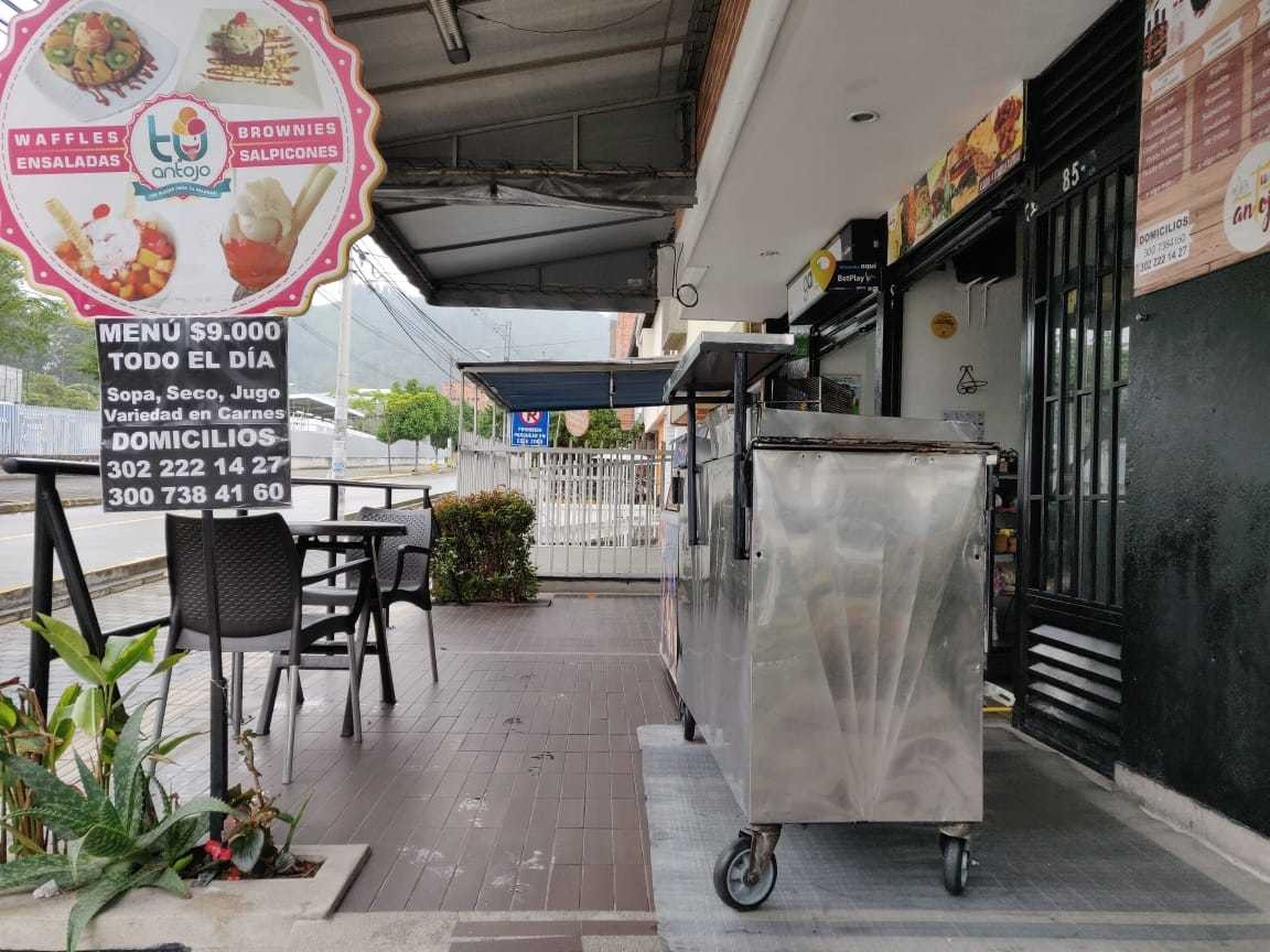 restaurante - bar - helados - comidas rápidas