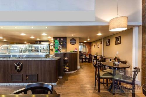 restaurante bistrô e cafeteria  à venda, 90 m² por r$ 155.000 - centro - curitiba/pr - pt0054