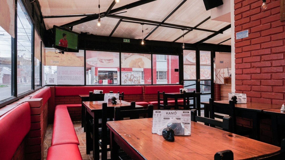 restaurante comidas rápidas pizzeria