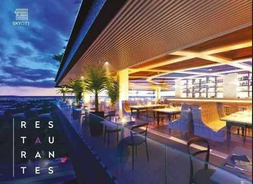 restaurante en skycity para renta