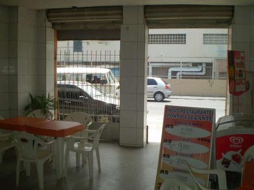 restaurante passando o ponto comercial na ribeira - ref: 396