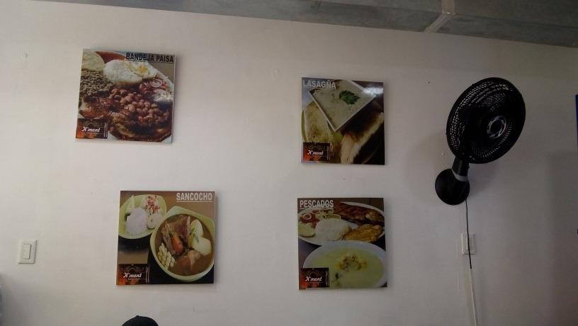 restaurante totalmente dotado