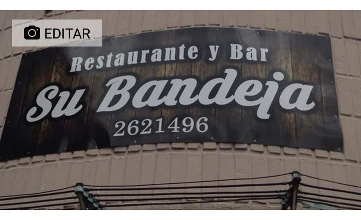 restaurante y bar su bandeja