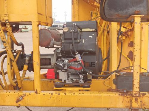 restirador de cable remolcable equipo para electrificacion