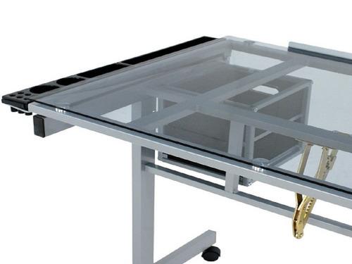 restirador - mesa de dibujo cristal templado  envío gratis