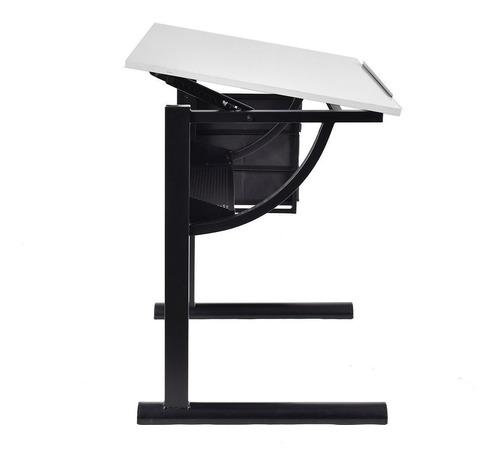 restirador mesa de dibujo trabajo escritorio cajones + banco