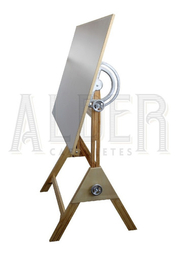 restirador profesional con herraje de aluminio