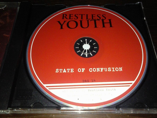 restless youth - state of confusion ep * cd made in usa