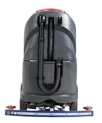 restregadora industrial, máquina para lavar pisos de baterí