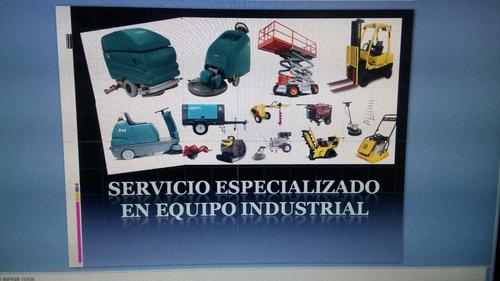 restregadoras y barredoras industriales