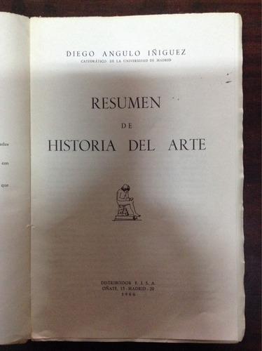 resumen de historia del arte