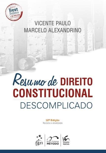 direito constitucional descomplicado em pdf
