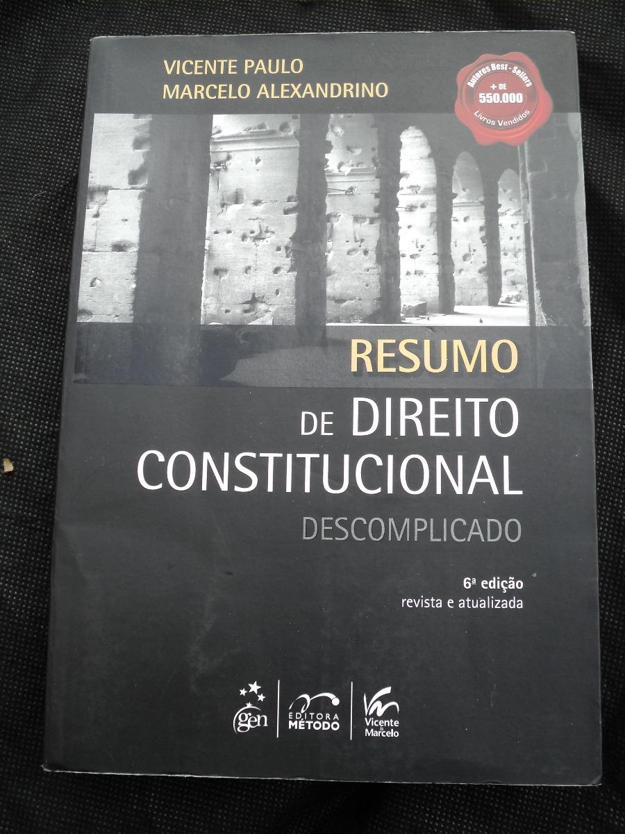 resumo de direito constitucional descomplicado 2012
