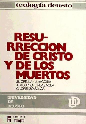 resurr. cristo y de los muertos(libro cristología)